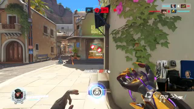Watch and share Overwatch GIFs and Highlight GIFs by Bullgrit on Gfycat