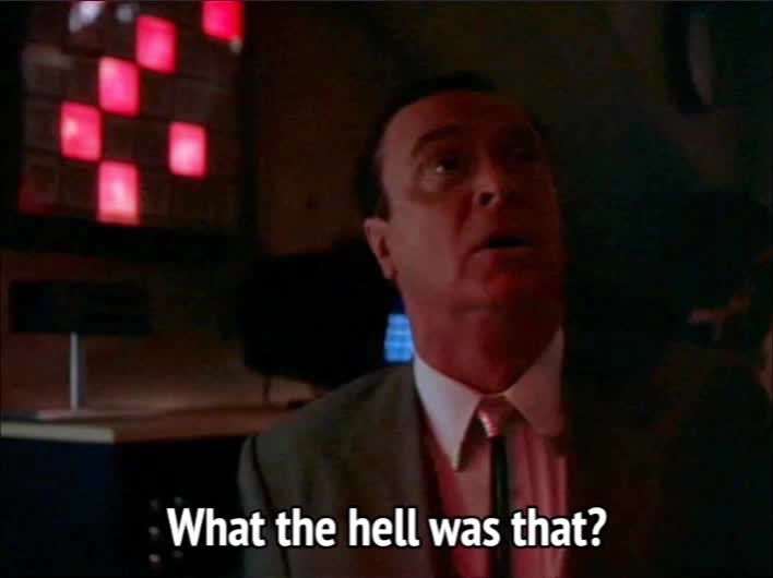confused, michael caine, on deadly ground, sound, On Deadly Ground - What the hell was that GIFs