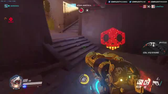 ☑ ☑ ☑ ☑ ☑ Purposefully hooking a cloaked Sombra as Roadhog