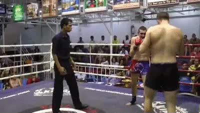 Watch Left Hook, hesitate, Then Throw Right Kick GIF on Gfycat. Discover more related GIFs on Gfycat