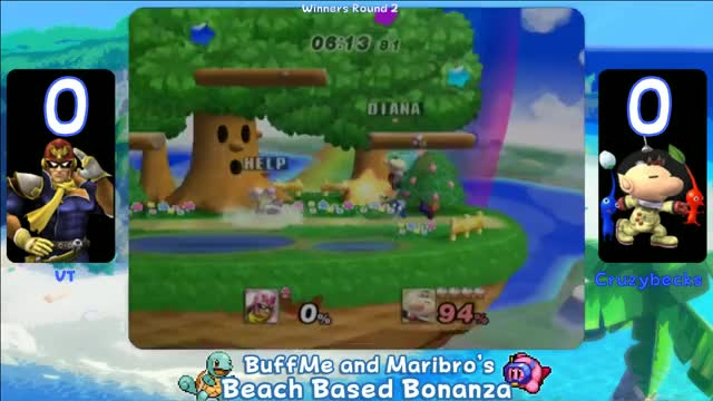 Watch and share BBB1 PM VT (Captain Falcon, Falco) Vs. Cruzybecks (Olimar) GIFs on Gfycat