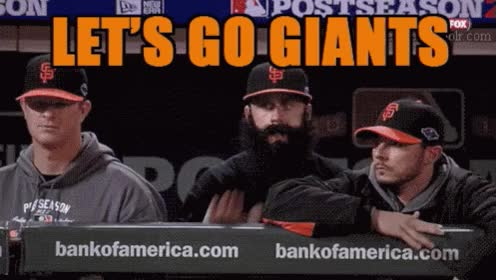 Watch and share San Francisco Giants GIFs and Baseball GIFs on Gfycat