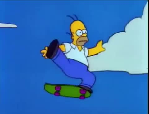 Watch Homer falling off cliff GIF on Gfycat. Discover more related GIFs on Gfycat