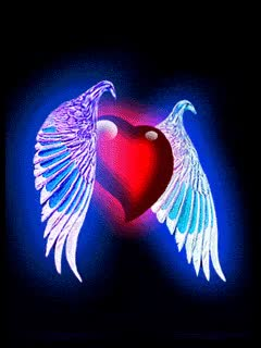 Watch and share Heart With Wings.gif GIFs on Gfycat