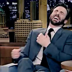 Watch this chris evans GIF on Gfycat. Discover more 1k, avangers, chris evans, chris*, chrisevanssource, edit, evansedit, funny, his laugh :((((, laughing, lol, loml, look at my baby, my gif GIFs on Gfycat