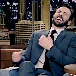 1k, avangers, chris evans, chris*, chrisevanssource, edit, evansedit, funny, his laugh :((((, laughing, lol, loml, look at my baby, my gif, let me take you for a ride GIFs