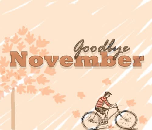 Watch and share Goodbye November Hello December GIFs on Gfycat