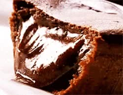 Watch and share There's One Thing We Know For Sure: You Need More Chocolate Cake In Your Life.I Mean, Just Look At How Scrumptious That Oozing Cake Is. GIFs on Gfycat