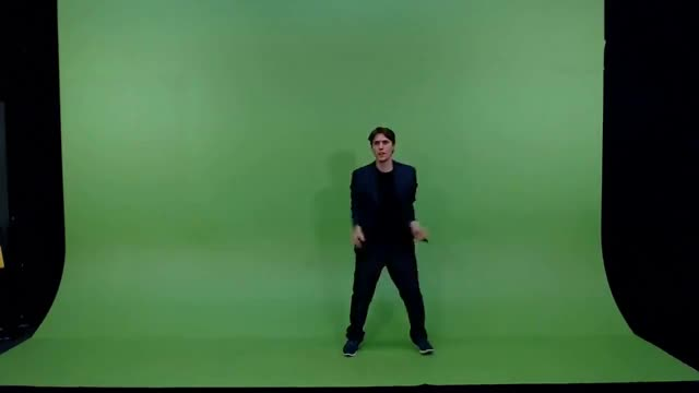 Jerma Green Screen JoJo poses 3