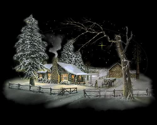 Watch and share Cozy Cabin On A Cold Winter Night GIFs on Gfycat