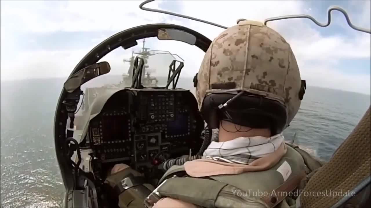 WarplaneGfys, warplanegfys, COCKPIT VIEW US Military Harrier Jump Jet Aircraft (reddit) GIFs