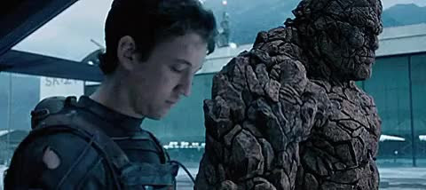Watch this ben grimm GIF on Gfycat. Discover more Ben Grimm, Fantastic Four, Marvel, Mr Fantastic, Reed Richards, The Thing, ben grimm, fant4stic, fantastic four, marvel, movies, mr fantastic, reed richards, the thing, thing GIFs on Gfycat
