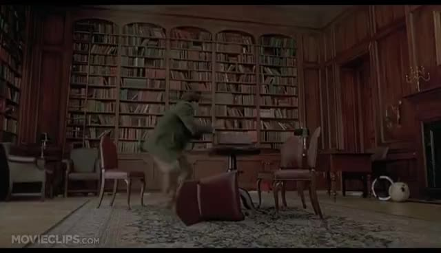 Jumanji (4/8) Movie CLIP - Stampede! (1995) HD GIFs