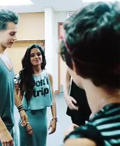 Watch Brad hugging Camila (x) GIF on Gfycat. Discover more SOMEONE'S PROBABLY ALREADY POSTED THIS BY NOW BC I'M SO SLOW BUT HERE YOU GO ANON, am tour, brad simpson, bradmila, camila cabello, camila*, fifth harmony, mine, my gifs, request, the vamps GIFs on Gfycat