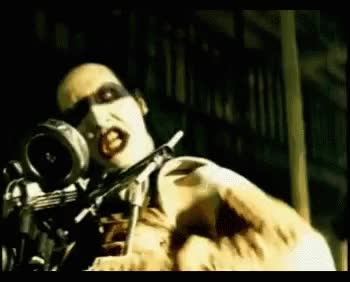 Watch Marilyn Manson GIF on Gfycat. Discover more related GIFs on Gfycat