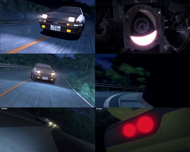 Watch Initial D GIF by Azulon (@azulon) on Gfycat. Discover more 86, deja vu, initial D, rx7 GIFs on Gfycat