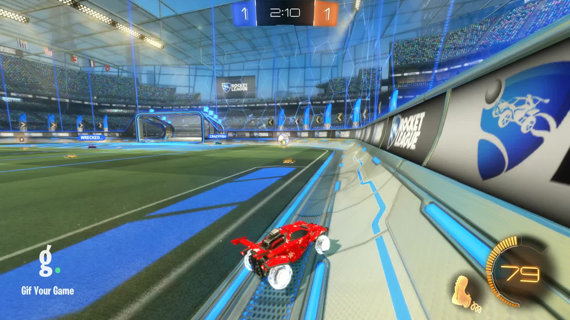 Assist, Gif Your Game, GifYourGame, Rocket League, RocketLeague, xaveir, Assist 1: xaveir GIFs