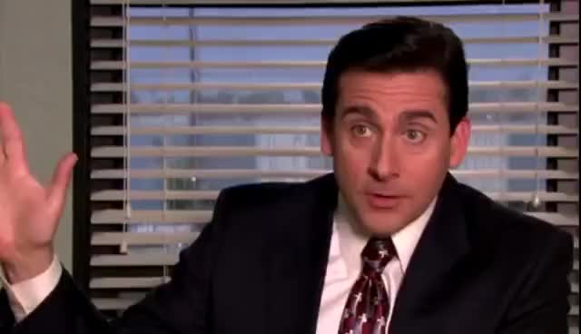 Watch and share The Office - Michael Scott - Mental GIFs on Gfycat
