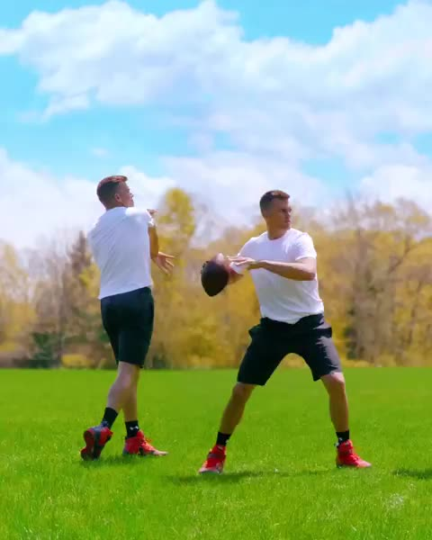 ari fararooy, perfect loop, rugby, tom brady, Part 1 of a new series w/ @tombrady. Filmed on a practice field in Boston, MA.  Director/VFX: @ari_fararooy  GIFs