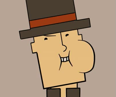 Watch and share [Image - 649507] | Professor Layton GIFs on Gfycat
