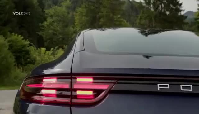 Watch and share 2017 Porsche Panamera - Retractable Rear Spoilers GIFs on Gfycat