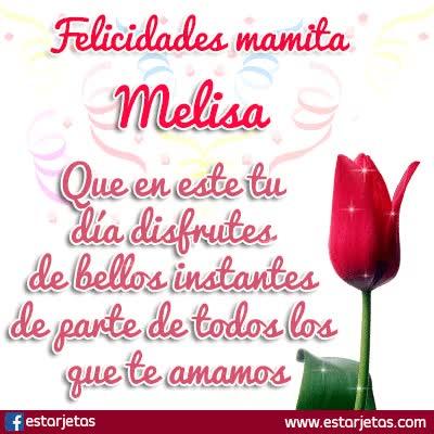 Watch and share Felicidades Mamita Melisa GIFs on Gfycat
