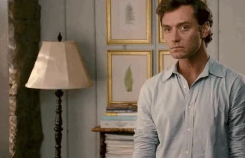 Watch this jude law GIF on Gfycat. Discover more jude law GIFs on Gfycat
