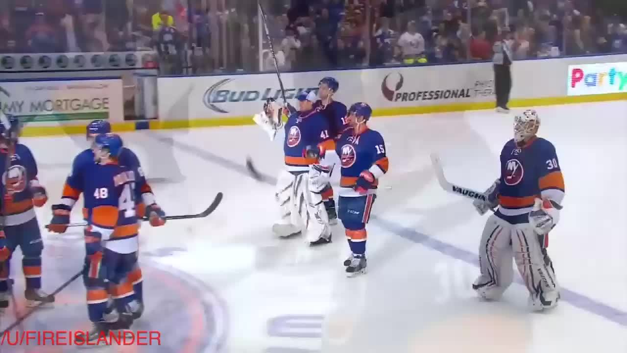 newyorkislanders, Another isles win (and yes gif) upvote party (reddit) GIFs