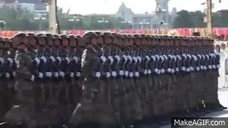 Watch and share China - Hell March - The Largest Army In The World - FULL (Official) GIFs on Gfycat