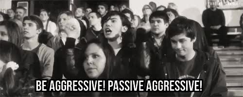 Watch and share Passive Agressive GIFs on Gfycat