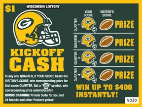 Watch and share Kickoff Cash Instant Ticket With Green And Gold Color Pulse GIFs on Gfycat