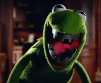 Watch and share Evil Kermit GIFs on Gfycat
