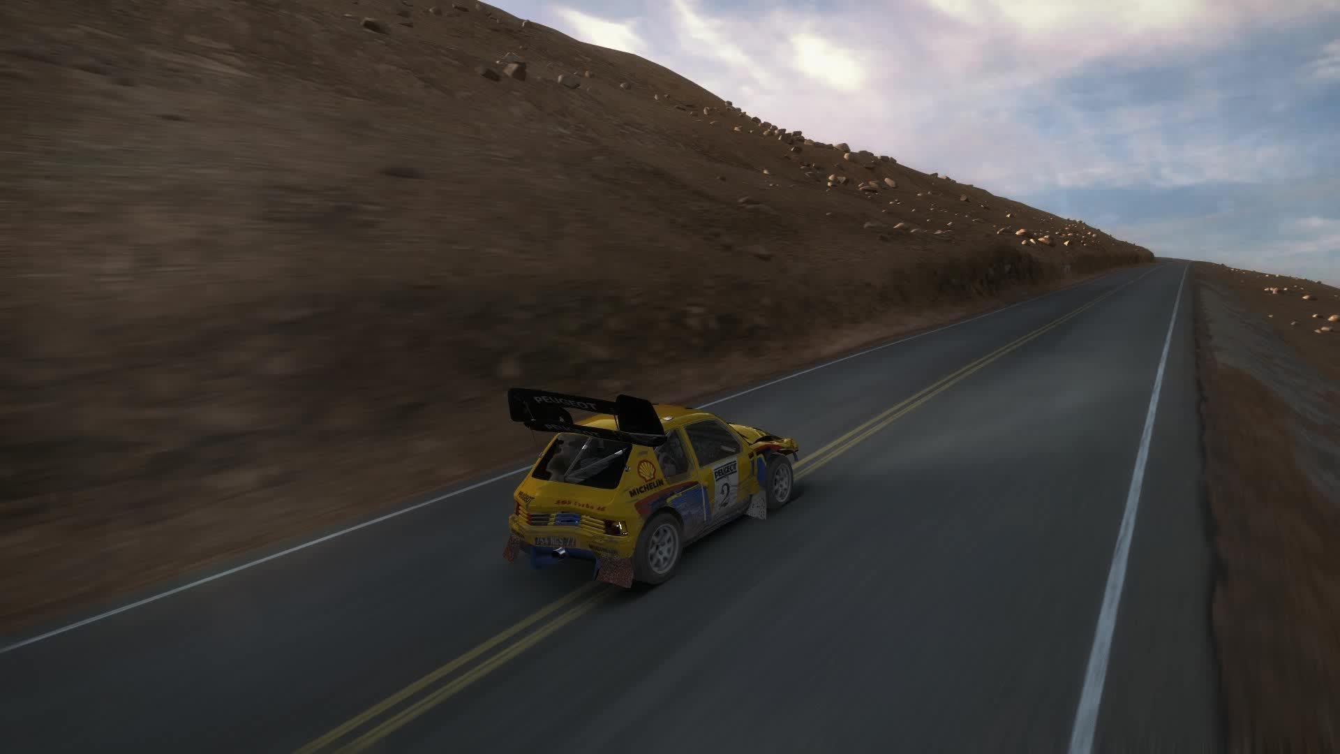 dirtgame, Tire pop Dirt Rally GIFs