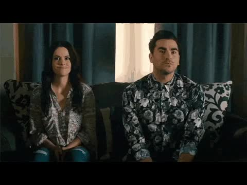 Watch this trending GIF on Gfycat. Discover more dan levy GIFs on Gfycat