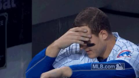 Watch and share Worldseries Game Clechc Rizzo Reaction MED Pblwh Fo GIFs on Gfycat