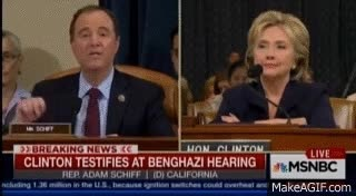Watch and share Hillary Clinton Benghazi Committee Nodding GIFs on Gfycat