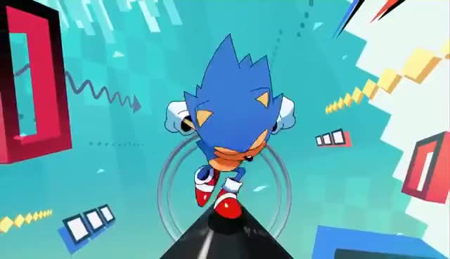 Watch and share SONIC MANIA - Opening Cinematic @ 1080p HD ✔ GIFs on Gfycat