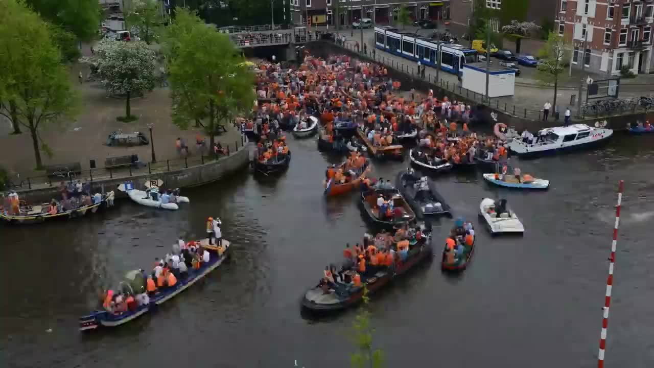 Amsterdam Kings Day GIFs