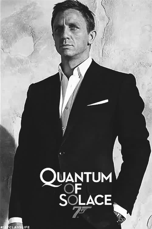Watch and share Black And White GIFs and Daniel Craig GIFs on Gfycat