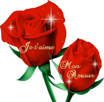 Watch and share Je T'aime animated stickers on Gfycat