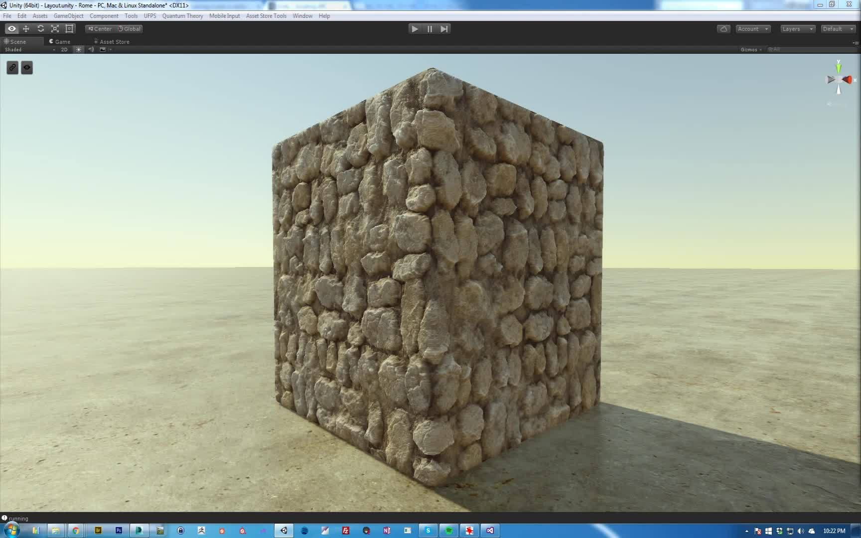 Parallax Shader In Unity For Rome An Asset Store Pack