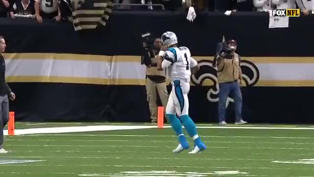 Watch and share NFL Highlights: Newton Evaluated After Being Blasted On Sack GIFs on Gfycat