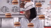 Watch and share Cheeseburger GIFs and Burger GIFs on Gfycat