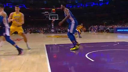 012919, Rajon Rondo and Ivica Zubac — Los Angeles Lakers GIFs