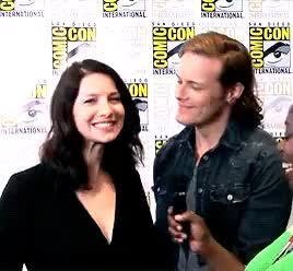 Watch and share Such Bad Quality GIFs and Caitriona Balfe GIFs on Gfycat