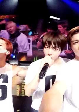 Watch sweaty Jin (ft. Jungkook & Jimin) GIF on Gfycat. Discover more 9597net, bangtan, edit., jin, kim seokjin, king, seokjin kim GIFs on Gfycat