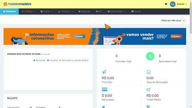 Watch and share MadeiraMadeira - Marketplace - Google Chrome 2020-05-15 11-55-27 GIFs on Gfycat