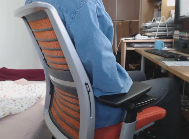Watch Steelcase Think chair - backrest GIF by @tszynalski on Gfycat. Discover more related GIFs on Gfycat