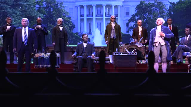 Watch and share Hall Of Presidents GIFs and Magic Kingdom GIFs on Gfycat