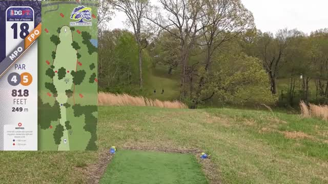 Watch DGPT - Jonesboro Open 2019 - Hole 18 GIF by Benn Wineka UWDG (@bennwineka) on Gfycat. Discover more Disc Golf Tournament, Live Disc Golf, PDGA, SmashBoxx, SmashBoxxTV, Sports, The Disc Golf Guy GIFs on Gfycat